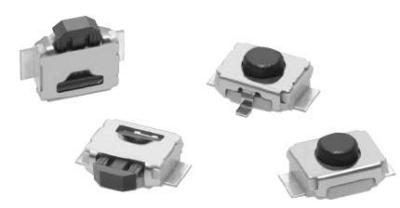 B3U switch tattili ultra piccoli della Farnell