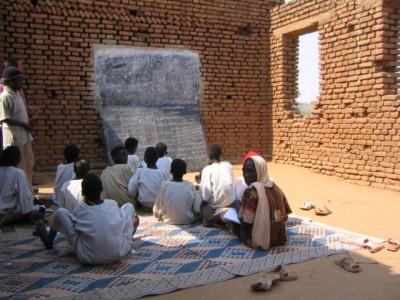 Costruire una scuola in Congo