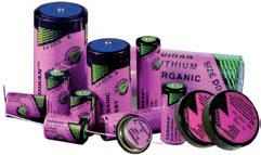 Le batterie al litio hanno una lunga durata che le rende adatte all'uso per contatori elettrici e contatori del gas