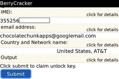 Sblocca il Blackberry con l'applicazione BerryCracker