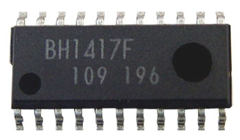 BH1417F trasmettitore FM stereo - schema elettrico