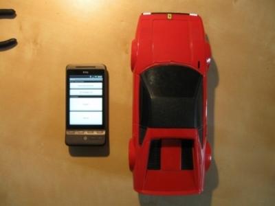 Il cellulare Android per guidare l'auto