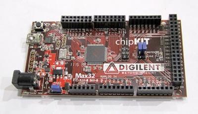 chipKITpiattaforma di sviluppo basata su mcu a 32bit compatibile con Arduino