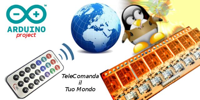 Progetto controllo remoto telecomando dispositivi ed