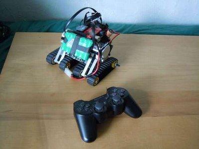 controller PS3 con Arduino NXT Bot