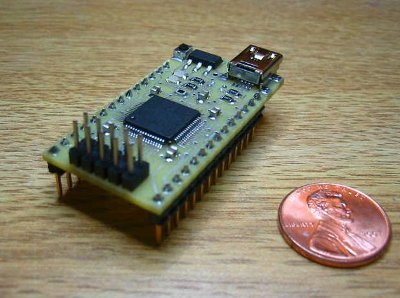 Review4U CPUstick MCF52252 Freescale