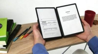 Un e-book che sembra un libro classico