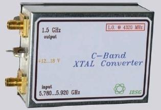 Downconverter con oscillatore a quarzo per la banda dei 5,8GHz