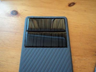 pannelli solari a bordo di un e-reader