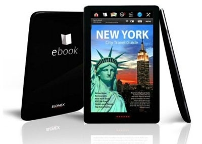 ebook reader elonex 710EB