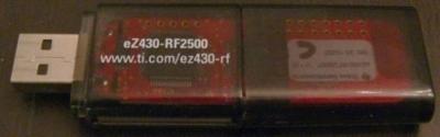 ez430 Analizzatore di spettro WiFi