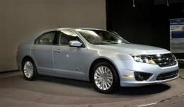 Energia pulita, auto elettrica, Ford Fusion