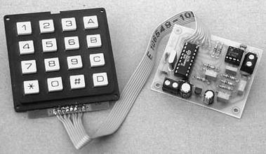 Codificatore DTMF a tastiera