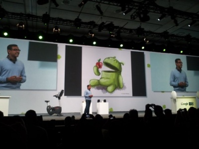Google i/o 2011 in italiano (android market e google music)