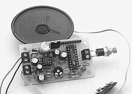 HT82231B Holtek sintetizzatore vocale