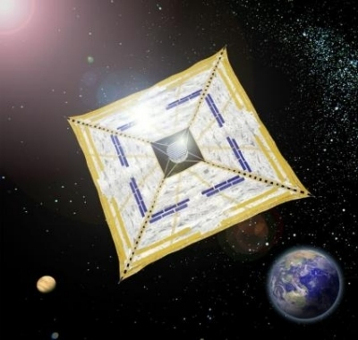 nave a vela solare Ikaro