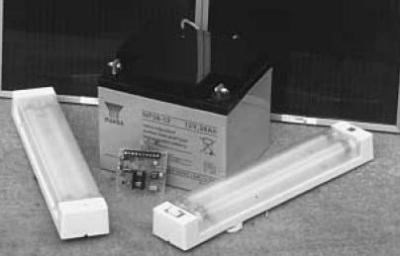 Impianto solare per baite
