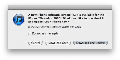 Apple rilascia iOS 4.3