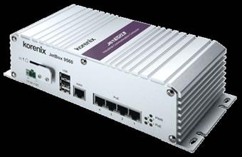 JetBox 9.560 è un sistema di videosorveglianza ottimizzato per Linux