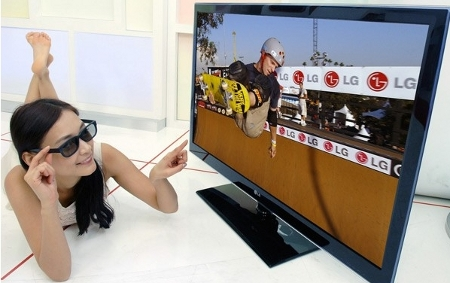LW6500 televisori 3D LG