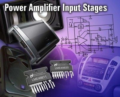 LME49830 amplificatore audio di potenza