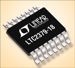LTC2379-18: ADC SAR a 18-bit a basso consumo ed elevate prestazioni