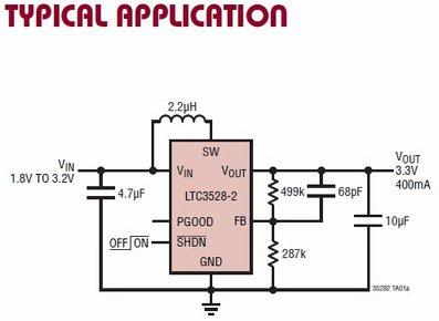 LTC3528-2 circuito