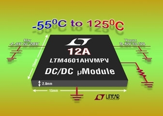 Come mettere in parallelo LTM4601, µModules 12A DC/DC
