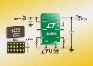 LTM8025, LTM8027 DC/DC, μModule