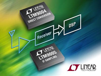 LTM9004 e LTM9005 ricevitori µModule da RF a digitale della Linear Technology