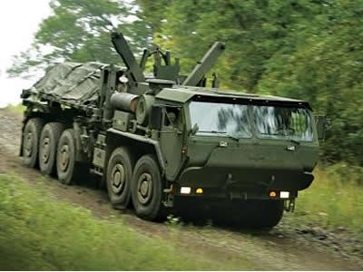 Un veicolo LVRS di Oshkosh