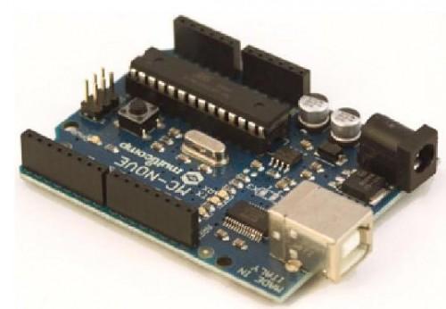 MC-Nove, scheda di sviluppo compatibile con Arduino Duemilanove