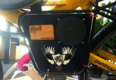 megafono per bici DIY fai da te