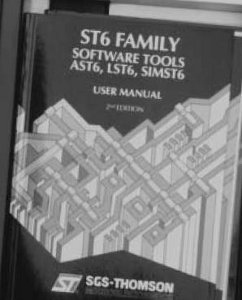 ST626X Corso di programmazione per microcontrollori ST626X