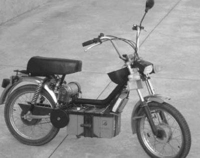 Motoretta elettrica progetto open source