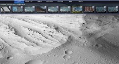 Mappe 3D di Marte
