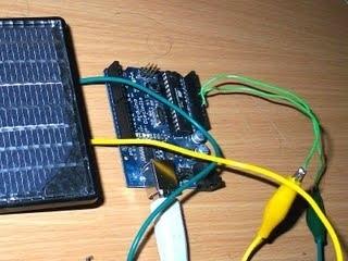 collegare un pannello solare con Arduino