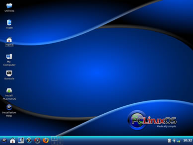 PCLinuxOS è una distribuzione desktop di GNU/Linux destinata a utenti inesperti