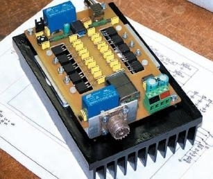 100 W F.E.T. Wide Band Amplifier