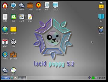 Puppy Linux 5.2 è basata su Ubuntu 10.4 ed è una distribuzione Linux facile e veloce
