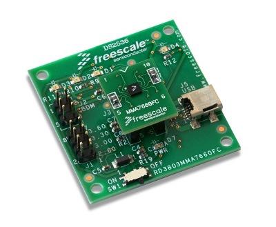 RD3803MMA7660FC, kit di valutazione della Freescale
