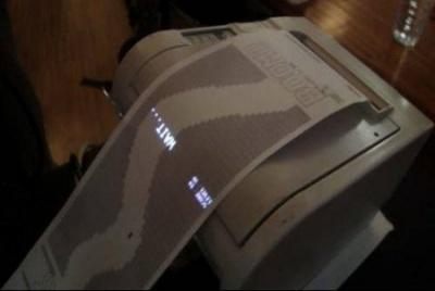 Gioco stampante receipt racer