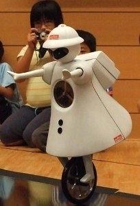robot monociclo murata seiko-chan