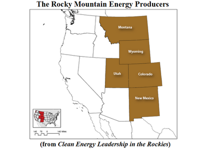 rocky mountains energy