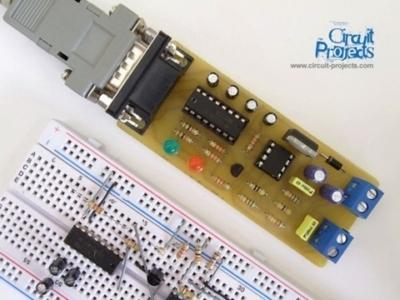 RS232 - RS485 Schema Convertitore seriale