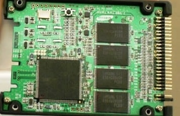 SSD anatomia della unità SSD