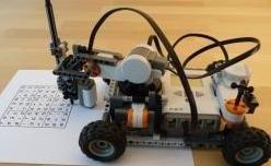 sensore ottico robot sudoku
