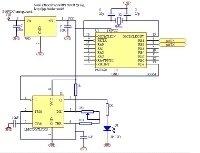Porta seriale controllata dal trasmettitore ad infrarossi utilizzando un PIC
