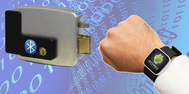 Serratura elettronica comandata da Smartwatch/Smartphone
