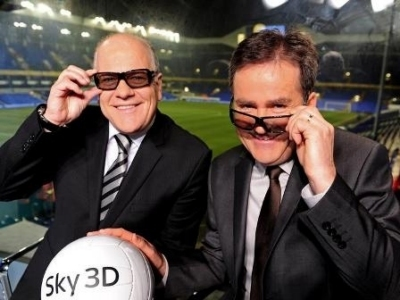 arsenal-machester in 3D: nuovo evento sky